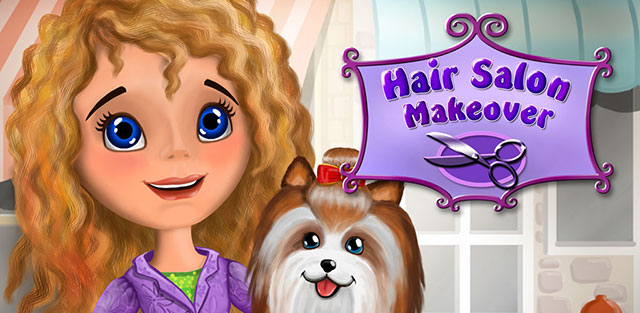 [FREE][GAME][2.3+] Hair Salon Makeover - Cut, Curl, Color, Style Hair-featured.jpg