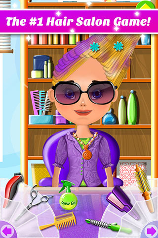 [FREE][GAME][2.3+] Hair Salon Makeover - Cut, Curl, Color, Style Hair-promo01.jpg