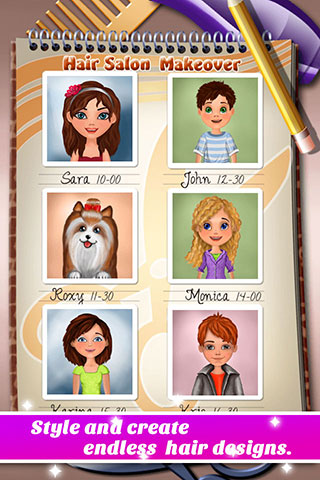 [FREE][GAME][2.3+] Hair Salon Makeover - Cut, Curl, Color, Style Hair-promo02.jpg