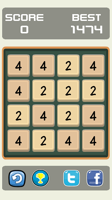 [FREE][GAME] Evens - I'm not 2048-screenshot1_720_1280.png