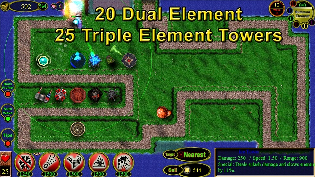 Element Tower Defense [FREE]-scr1.jpg