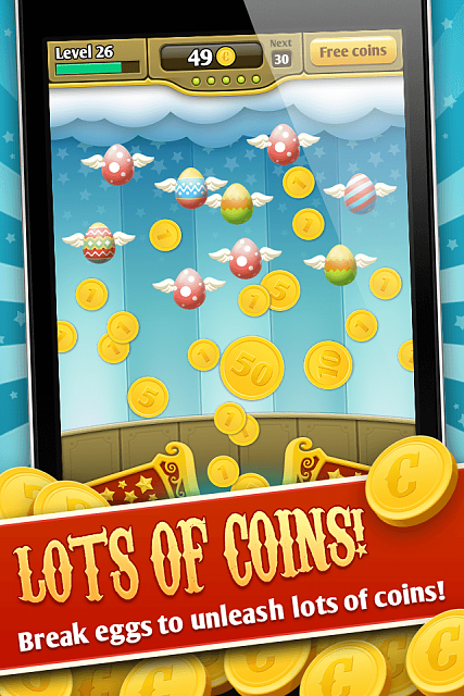 [Free] [Game] [Casual] Coins vs Eggs-appstore_screenshot_01.png