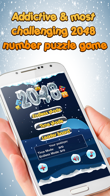 [Game][2.2+] 2048 Puzzle Game - Addictive & most challenging number puzzle-hinh-1.png