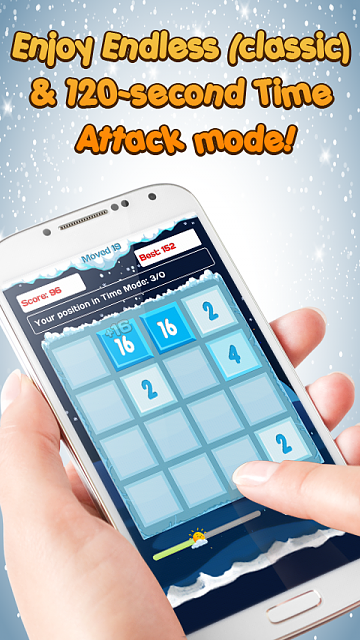 [Game][2.2+] 2048 Puzzle Game - Addictive & most challenging number puzzle-hinh-2.png