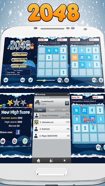 [Game][2.2+] 2048 Puzzle Game - Addictive & most challenging number puzzle-hinh-8.png