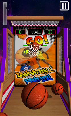 """Basketball Frenzy"" - new FREE sport game-ss3.png"