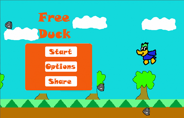 [GAME][2.2][Free Duck] My first game!, Save peter the Duck!-main.png