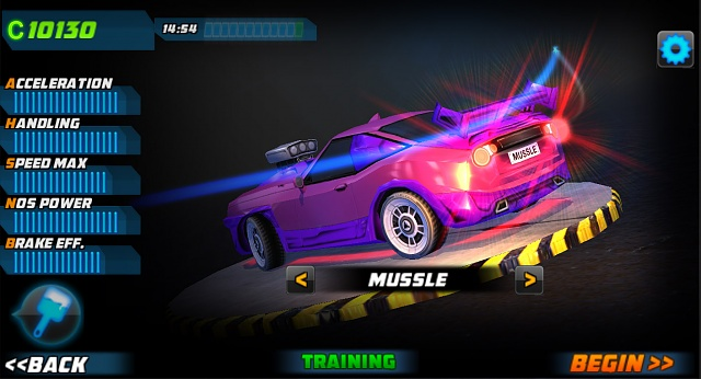 [FREE RACING GAME] Megafast, the lord of asphalt!-screen02.jpg