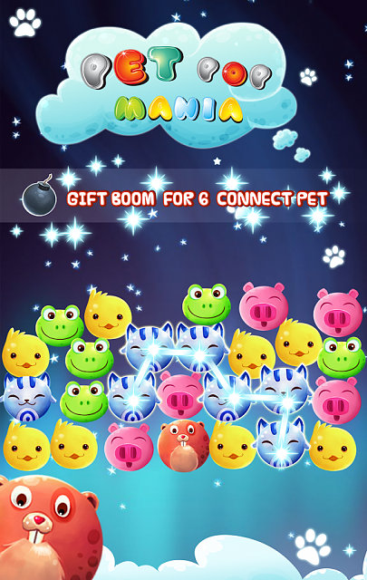 PET POP MANIA [Free]-An addictive game for everyone-3.png