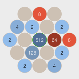 Betract - Subtracting from 2048 [FREE GAME]-board256.png