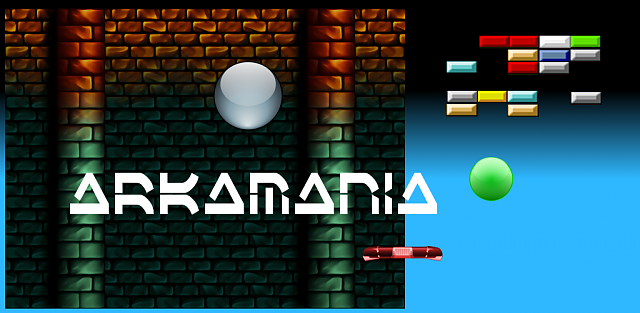 [FREE][GAME] Arkamania: a Brick Breaker Game! My first Android game !-promotional.png