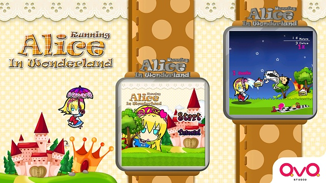 [Free Game][Android Wear] Alice Running in Wonderland-google-play-ad1.jpg