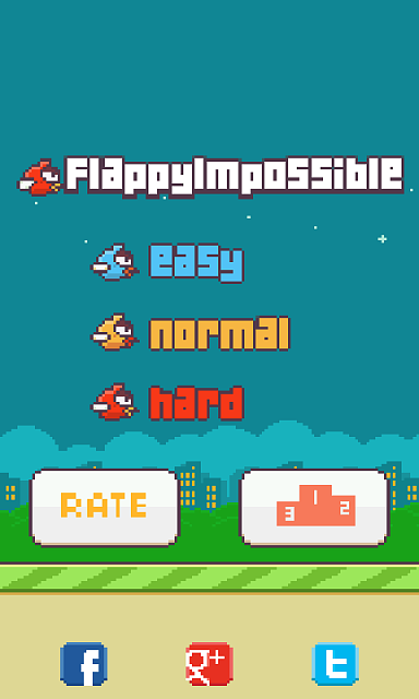[GAME] Floppy Bird Impossible Multimode with moving pipes, Pirahna plnats and more ...-393978screenshot20140803041653.png