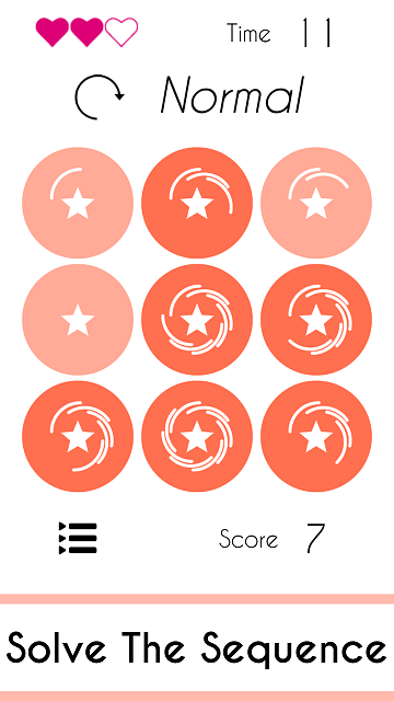 [GAME] Sequences : Pattern Recognition Game (Numbers, Letters & Symbols Sequences)-screen1.png
