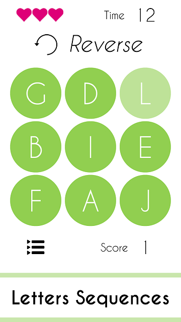 [GAME] Sequences : Pattern Recognition Game (Numbers, Letters & Symbols Sequences)-screen3.png