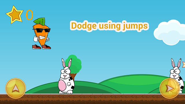 Funny 2D android runner - Carrot vs rabbits-g4_1.png