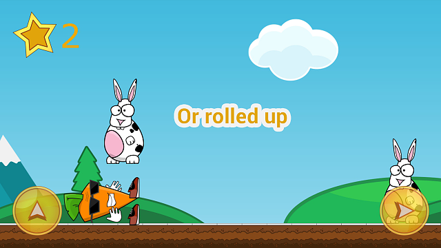 Funny 2D android runner - Carrot vs rabbits-g4_2.png