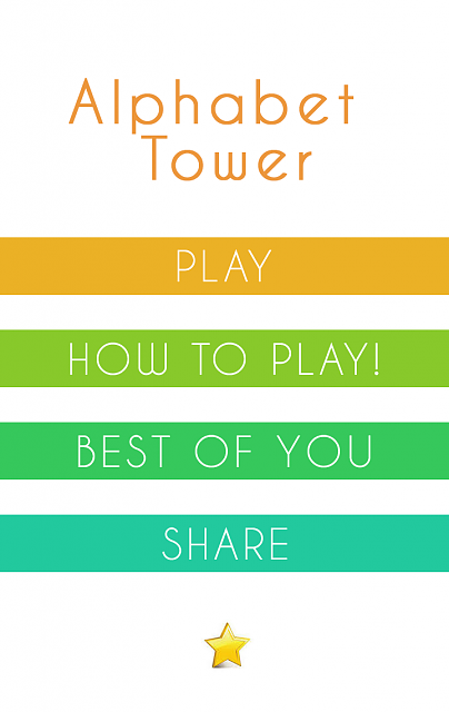 Alphabet Tower Fast Puzzle [Free]-main.png