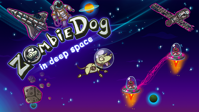 Zombie dog: deep space runner [FREE GAME]-screen_1-2-.png