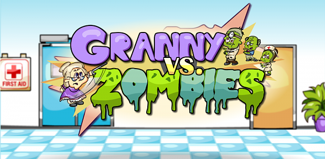 [FREE] Granny vs. Zombies!  My very FIRST game release.-grannypromo.png