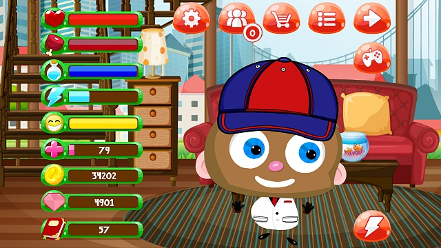 [FREE][GAME] My Piper - Virtual Pet and Construction Game-screen1.jpg