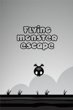 Flying monster escape - Cute endless jumper [GAME] [FREE] [2.3+]-ios-simulator-screen-shot-11-2015-.-0.14.50.png