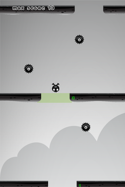 Flying monster escape - Cute endless jumper [GAME] [FREE] [2.3+]-ios-simulator-screen-shot-11-2015-.-0.16.08.png