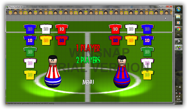 [Free Game] Physics Football 3D free soccer game, Android Game-sshot-1.png