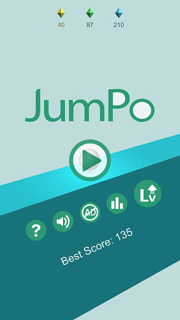 [FREE GAME] JumPo - 3D Jump Ball Game-android-4.7-xhdpi-720x1280.png