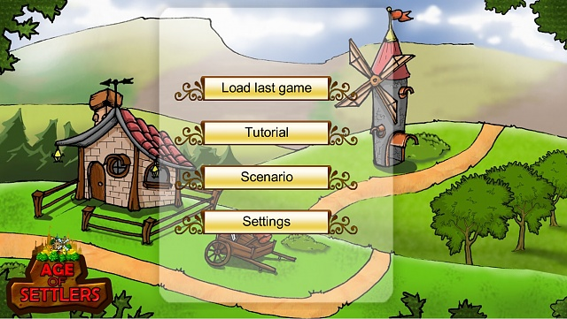 [FREE][GAME] Age of Settlers - offline strategy game-menu.jpg