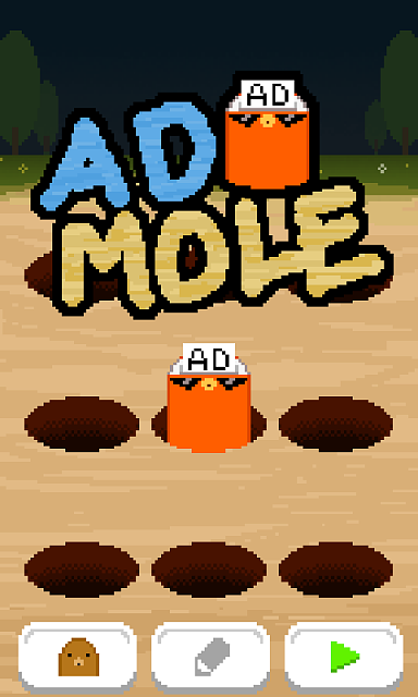 [FREE][GooglePlay] Ad mole - Advertising is also a game element!-admole_01_en.png