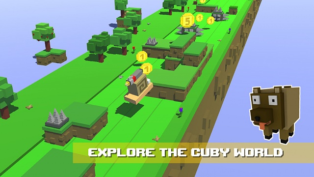 [FREE][Game] Cuby Creatures - 3D Endless Runner with Cute Cube Animals-cuby_shot03.jpg