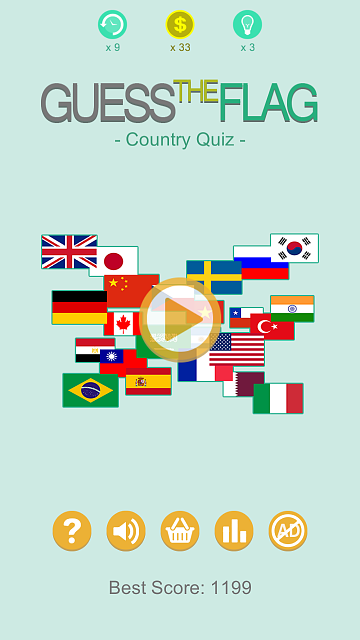 [FREE GAME] Guess The Flag - Country Quiz-android-4.7-xhdpi-720x1280.png