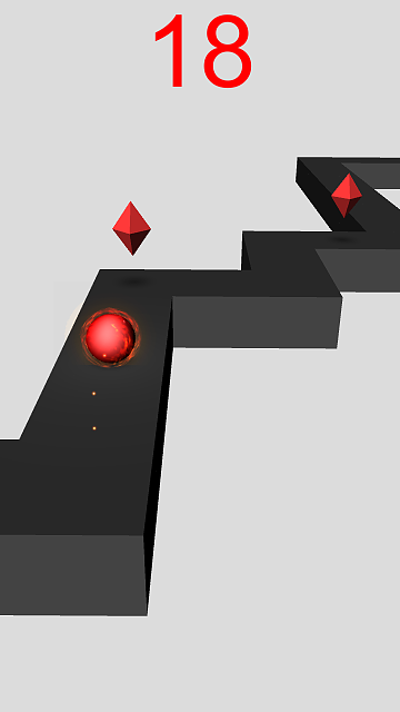 [FREE][GAME] ZiKaBoo! - ZigZag 3D Runner-android-4.7-xhdpi-720x1280.png