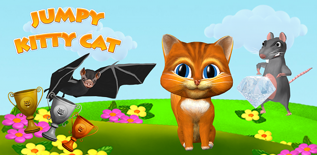 [free game][casual][new version]  jumpy kitty cat-feature_graphic.png