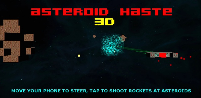 Asteroid Haste - Move your phone to steer your star ship in full 3D!-promo1024.jpg