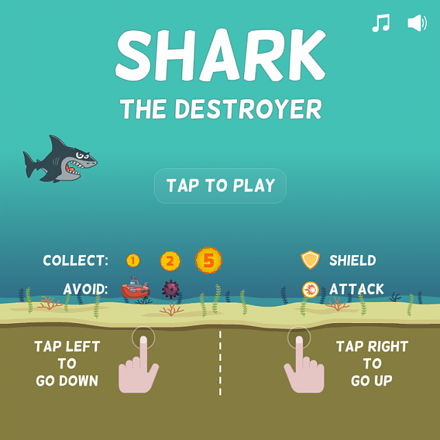 [FREE][GAME] Shark the Destroyer-screenshot1.png