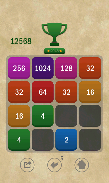 [FREE] [Android] [GAME] 2048 Puzzle-game_2.png