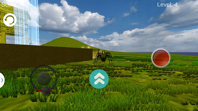 [Free App] Maze 3D-level4_spider.jpg