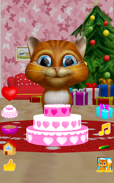 [free game][3d christmas talking cat][talk dance cucumber and presents]-device-2016-01-04-010832.png
