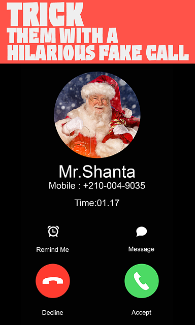 Fake call simulates incoming prank phone caller with name and number with photo.-4.png