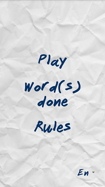 [Game][Free] Words and letters-main_menu.png