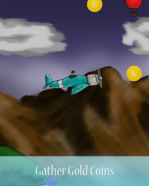 [Free][Game][4.1+]Flight Thriller - Endless Flyer-gather_gold_coins.jpg
