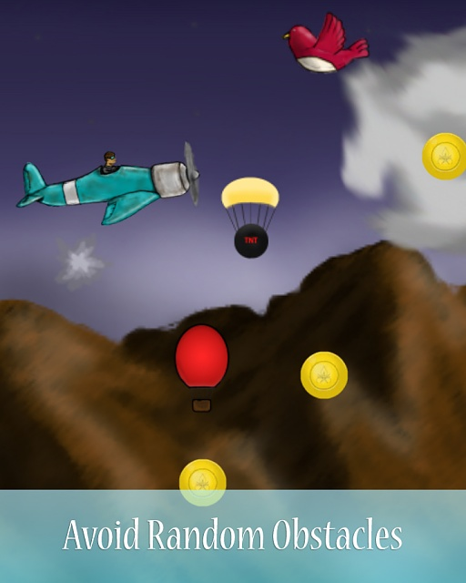 [Free][Game][4.1+]Flight Thriller - Endless Flyer-avoid_random_obstacles.jpg