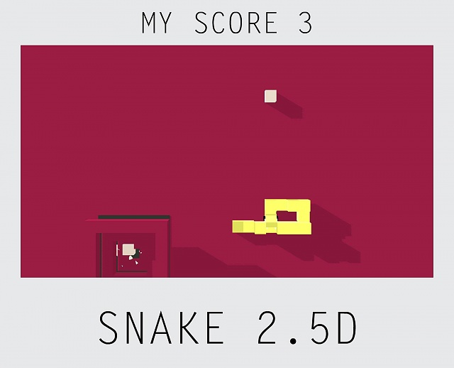[free game][4+] Snake 2.5D , prepare to be amazed it's another snake game!:)-screenshotexample.jpg