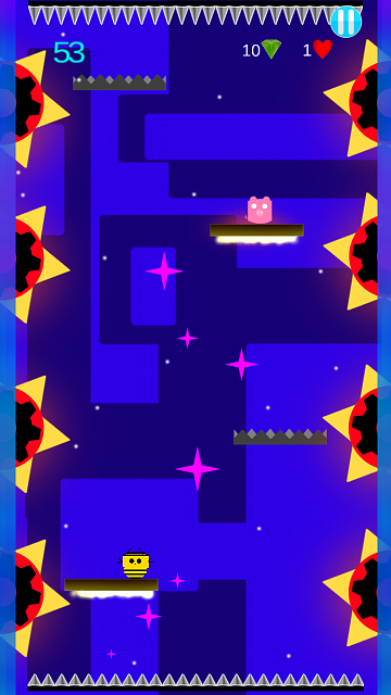 "[FREE][GAME]-Beautifull, Colorfull, Cute and very Difficult ""Dodge The Spikes""-snap1.png"