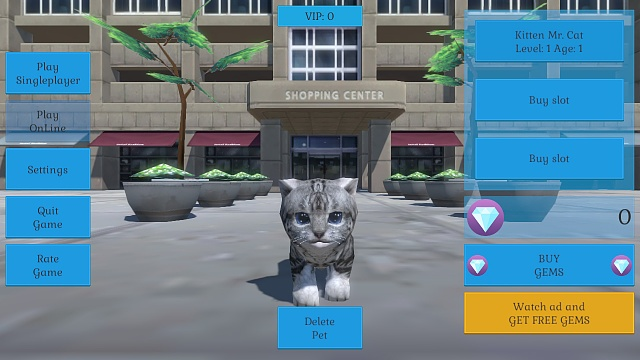 [FREE][GAME] Cute Pocket Cat And Puppy 3D-screen_0.jpg