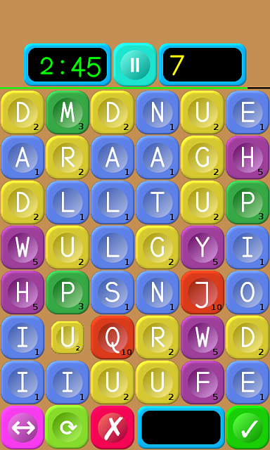 """[FREE][GAME][2.3+] Words Builder - a combination of the elements of """"Scrabble"""" and """"Jewels""""-stage1.png"""