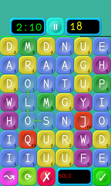 """[FREE][GAME][2.3+] Words Builder - a combination of the elements of """"Scrabble"""" and """"Jewels""""-stage2.png"""