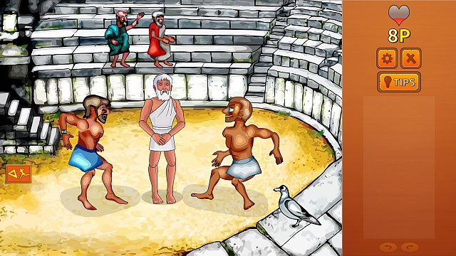 (Silly adventure game) Zeus Quest Remastered just released for Android.-image_theatro.jpg